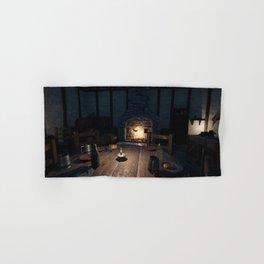Indoor Medieval house 2 Hand & Bath Towel