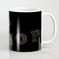 hip hop Mugs featuring HIP HOP by kreatox