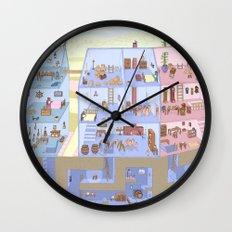 Village Homes Maze Wall Clock