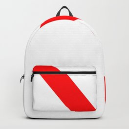 flag of strasbourg Backpack
