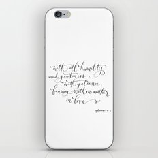 Bearing in Love iPhone & iPod Skin