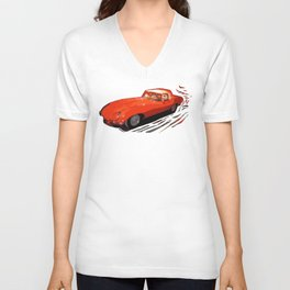 Vintage 1969 Jaguar  | Nadia Bonello Unisex V-Neck
