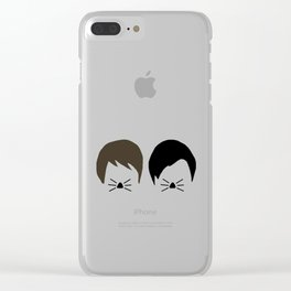 Dan and Phil Clear iPhone Case