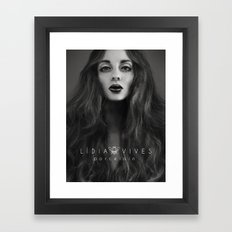 Porcelain Framed Art Print