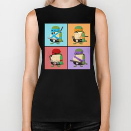 Turtles in Disguise Biker Tank