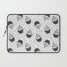 Coloring Book Cupcakes and Sprinkles Laptop Sleeve