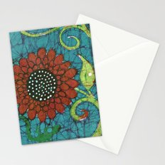 Kate's Flower Batik Stationery Cards