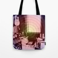 lsd Tote Bags featuring ATÊLIE LSD by Dianah B