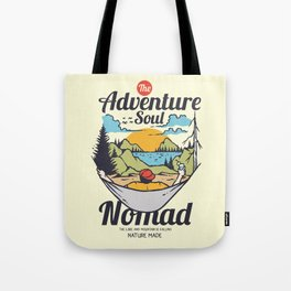 The Adventure Soul Tote Bag