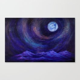 We Are The Creators, Cosmic Series Canvas Print