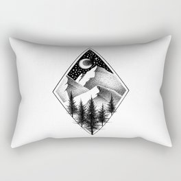 NORTHERN MOUNTAINS III Rectangular Pillow