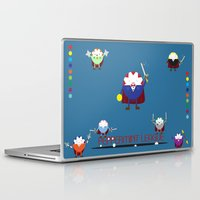 league Laptop & iPad Skins featuring Peppermint League by Carieo's Creation