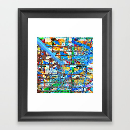 Ally (Goldberg Variations #6) Framed Art Print