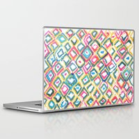 ikat Laptop & iPad Skins featuring IKAT by  Ray Athi