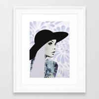 silver Framed Art Prints featuring Silver by EISENHART
