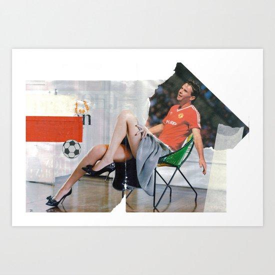 Football Fashion #1 Art Print