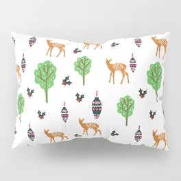 Xmas Deer Pattern Pillow Sham