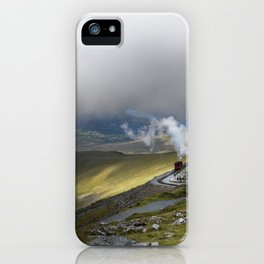 Snowdonia Mountain Railway iPhone Case