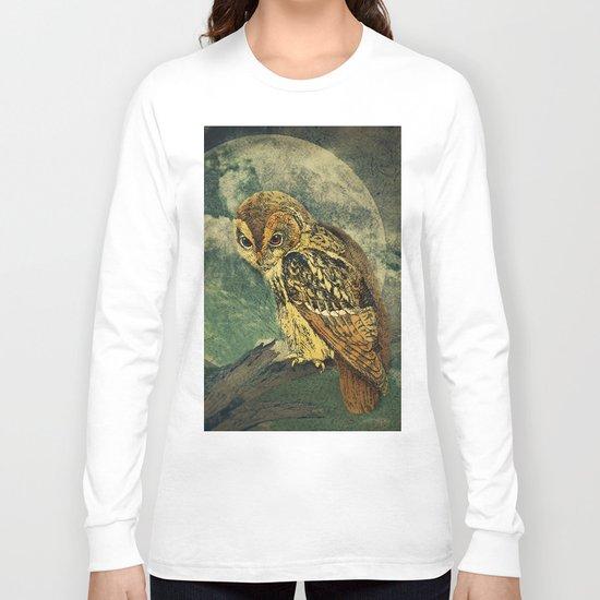 She Waits Long Sleeve T-shirt