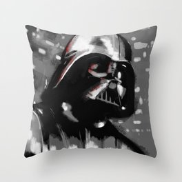 Dark Force Lord Throw Pillow