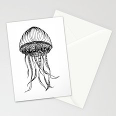 Jellyfish Octopus Creature Imaginitive  Stationery Cards