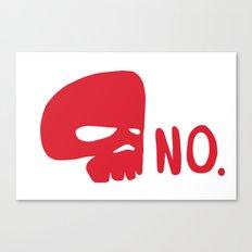 No. Canvas Print