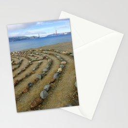 Lands end San Francisco golden gate Stationery Cards