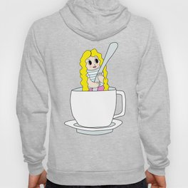Biondina at coffee time Hoody