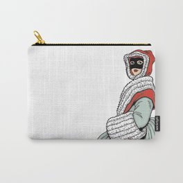 Masked Girl Carry-All Pouch