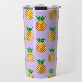 Pineapple Pattern Design Travel Mug