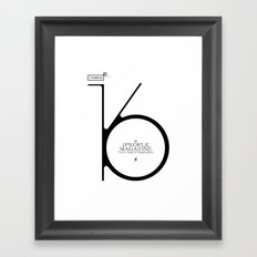 Jpeople Magazine 16 / Truth, Style & Imagination Framed Art Print