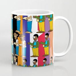 A Discussion Between Professors Coffee Mug