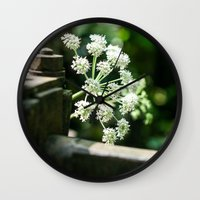 lace Wall Clocks featuring Lace by Candace Fowler Ink&Co.