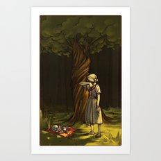 the juniper tree Art Print