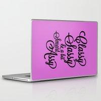 sassy Laptop & iPad Skins featuring Classy Sassy by CreativeAngel