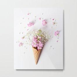 Stock Flower Cone Metal Print