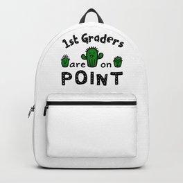 First Grade Teacher, Student Quote / Teach 1st Grade Class Premium design Backpack