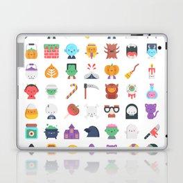 CUTE HALLOWEEN COSTUME FALL PATTERN Laptop & iPad Skin