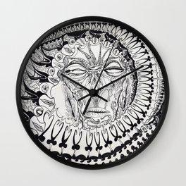 Chandalier By: Matthew Crispell Wall Clock