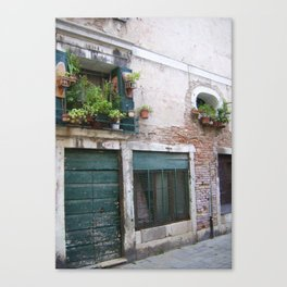 Old Houses Venice II Canvas Print
