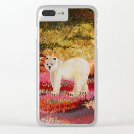 Where did my ice floe go? Clear iPhone Case