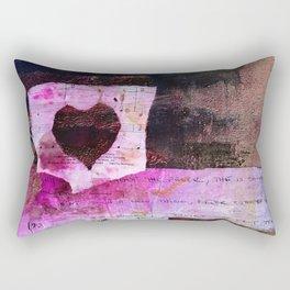 Love Fever Rectangular Pillow