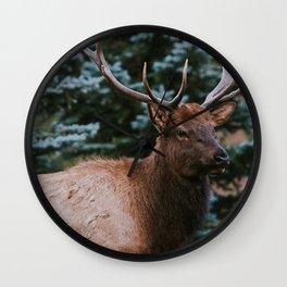 Elk Wall Clock