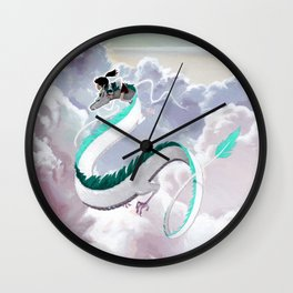 I Knew You Were Good Wall Clock