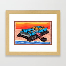 All Terrain: Beach Framed Art Print
