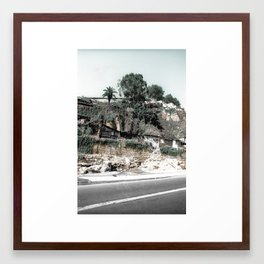 HOUSES ON THE HILL - OPORTO (PORTUGAL) Framed Art Print