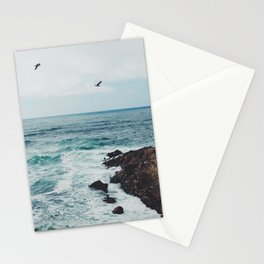 Sea Blue Stationery Cards