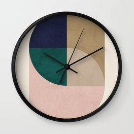 Turning Away Wall Clock