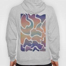 Colour splash gradient Hoody