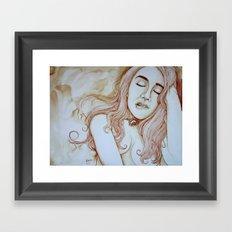I am here Framed Art Print